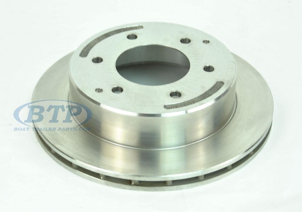 Kodiak Stainless Steel Brake Rotor 6 Lug 12 Inch Slip On