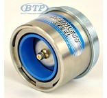 Stainless Steel Trailer Bearing Buddy Protector 2.441 6 Lug Hubs