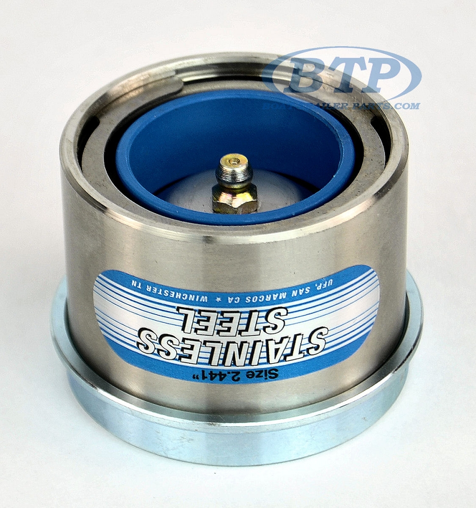 Stainless Steel Trailer Bearing Buddy Protector 2 441 6