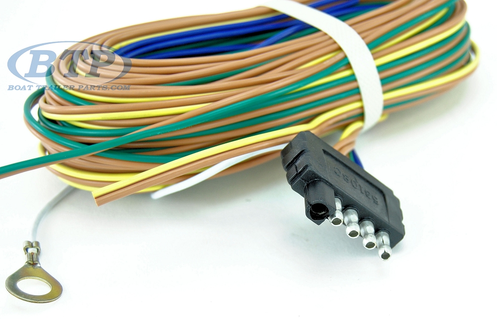 cost for boat wiring harness trailer wiring harness 5 flat 35ft for adding disc brakes ... universal boat wiring harness