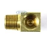 Replacement Brass Adapter Port for Trailer Disc Brake Calipers - Fits Kodiak 225 and 250 Calipers