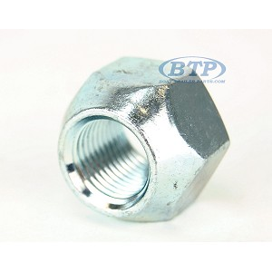 Trailer Lug Nuts 1/2-20 Trailer Thread Zinc Plated Open Style