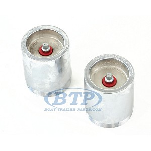 "(PAIR) Kodiak Red Eye Trailer Bearing Protector 1.98"" For 4 Lug and 5 Lug Hubs"