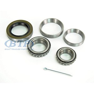 1 1/16 inch x 1 3/8 inch Trailer Wheel Bearing Kit with Races for 3500 lb Axles