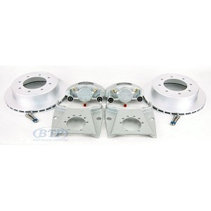 Kodiak DAC Coated Trailer Disc Brake Kit Slip On 8 Lug 7,000lb Axles