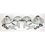 Kodiak Trailer Integral Disc Brake Kit 5 Lug Dacromet / Stainless