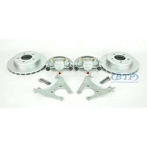 Kodiak Boat Trailer Slip On Disc Brake Kit ALL Dacromet 5 Lug