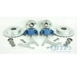 Kodiak Koda Guard Disc Brake Kit Slip On 5 Lug 3500 lb w/Hubs