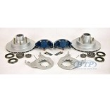 Kodiak Integral Disc Brake Kit Koda Guard 6 Lug 5200lb Axles