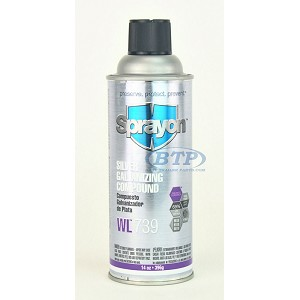 Brite Zinc 65% Galvanized Spray Paint Coating for Boat Trailers