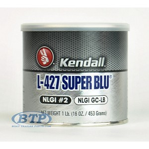Trailer Wheel Bearing Grease Super Blu Tub High Temperature