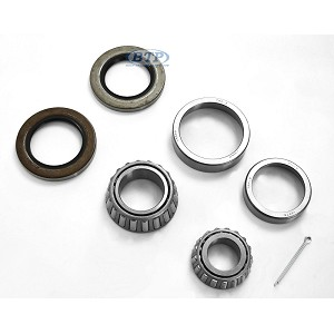 "Trailer Wheel Bearing Kit 6 Lug, 1 1/4"" x 1 3/4"", Uses Bearings 67048 x 25580"