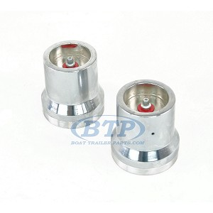 "(PAIR) Kodiak Red Eye Trailer Bearing Protector 2.441"" For 6 Lug Hubs"