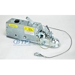 Titan Model 60 Hydraulic Trailer Disc Brake Surge Coupler Actuator 2 inch Ball 7,000lb Lever Lock