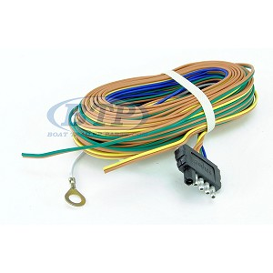 Trailer Wiring Harness 5 Flat 35ft for Adding Disc Brakes to Trailer